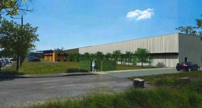 Bâtiment industriel - Châteauneuf-sur-Isère (26)